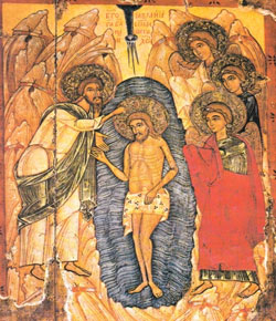 Icon from the School of Ukraine, 16th century. Held in the Museum of Ukrainian Figurative Art, Kiev (43.5x36cm)