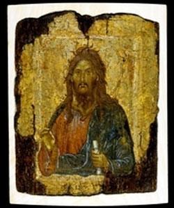 St. John the Baptist Byzantine c. AD1300 Constantinople (modern Istanbul, Turkey) (25.1x20.2cm) British Museum